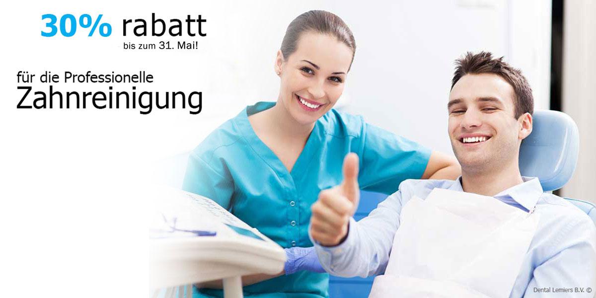Professionelle Zahnreinigung_Aktie