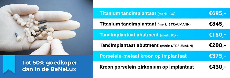 Tandimplantaat